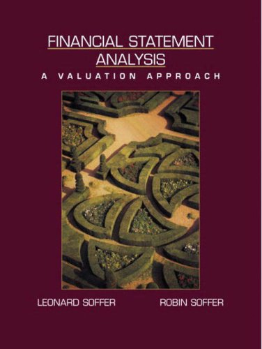 9780131230163: Financial Statement Analysis: A Valuation Approach