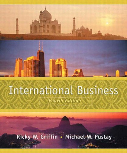 9780131230170: International Business: A Managerial Perspective: International Edition