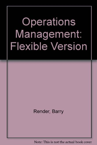 9780131230248: Operations Management: Flexible Version