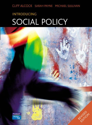introduction to social policy If you use social media to promote your business, you need a social media policy check out cendrine marrouat's presentation to learn which elements must be i.