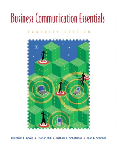 9780131232778: Business Communication Essentials, First Canadian Edition