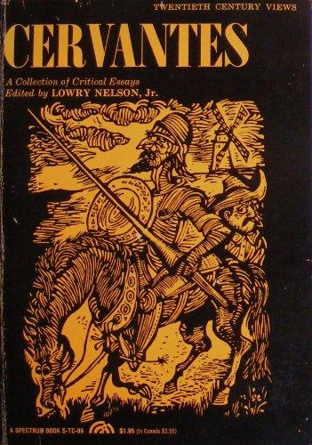 9780131232815: Cervantes: A Collection of Critical Essays (20th Century Views)