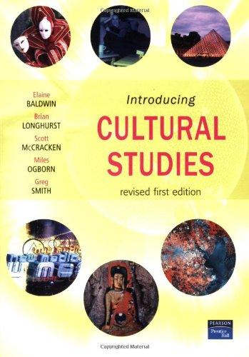 9780131232839: Introducing Cultural Studies