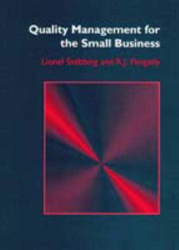 9780131233409: Quality Management for the Small Business (Ellis Horwood Series in Applied Science & Industrial Technology)