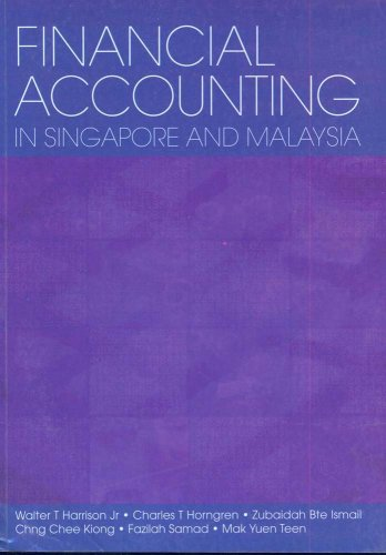 9780131234505: Financial Accounting in Singapore and Malaysia