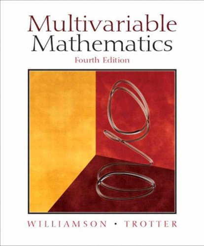 9780131235700: Multivariable Mathematics