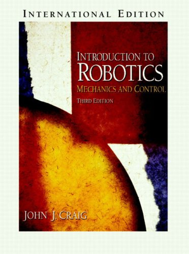 9780131236295: Introduction to Robotics: Mechanics and Control