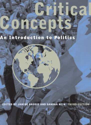 9780131238152: Critical Concepts: An Introduction to Politics