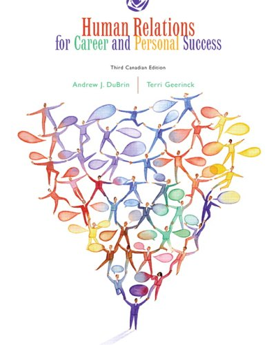 9780131239968: Human Relations for Career and Personal Success, Third Canadian Edition (Paperback)
