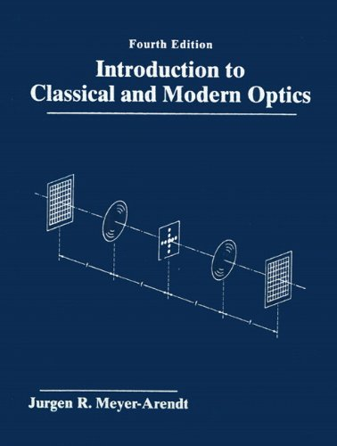 9780131243569: Introduction to Classical and Modern Optics (4th Edition)
