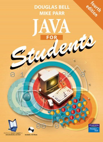9780131246188: Java for Students + CD (4th Edition)