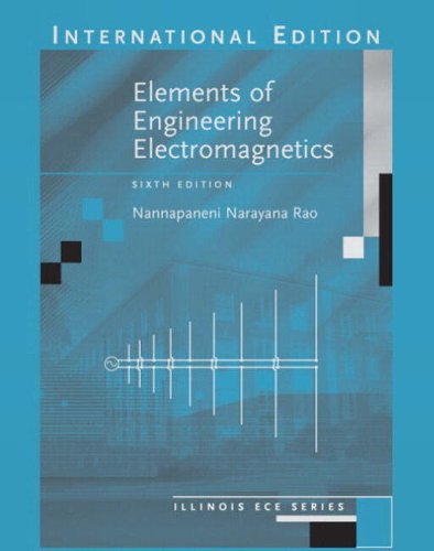 9780131246799: Elements of Engineering Electromagnetics