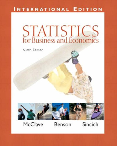 9780131246980: Statistics for Business and Economics