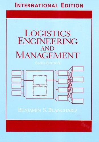 9780131246997: Logistics Engineering and Management
