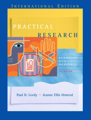 9780131247208: Practical Research: Planning and Design: International Edition