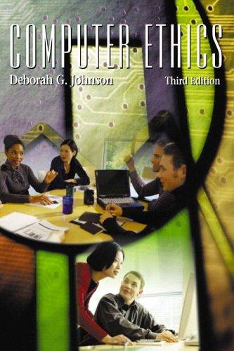 9780131247888: Computer Ethics: International Edition