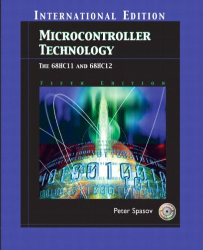 9780131247918: Microcontroller Technology: The 68Hc11 (5th International Edition)