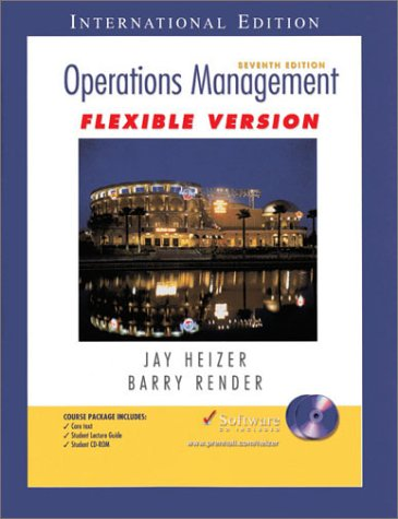 9780131248106: Operations Management - Flexible Version