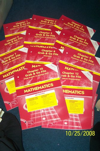 9780131250864: Mathematics: Course 3