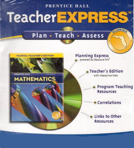 9780131252066: Prentice Hall Teacher Express: Mathematics (Plan/Teach/Assess)