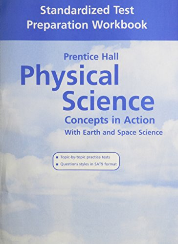 9780131256682: HIGH SCHOOL PHYSICAL SCIENCE TEST PREP WORKBOOK 2004C