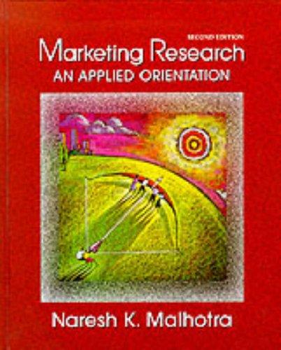 9780131257337: Marketing Research: An Applied Orientation