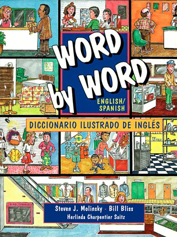 9780131258655: Word by Word English/Spanish Diccionario Ilustrado De Ingles (Picture Dictionary)