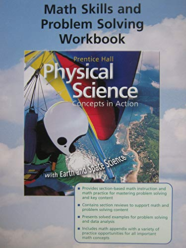 9780131258891: PHYSICAL SCIENCE MATH SKILLS AND PROBLEM SOLVING WORKBOOK 2004C