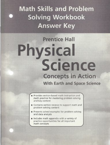 PRENTICE HALL/PHYSICAL SCIENCE/CONCEPTS IN ACTION WITH EARTH: PRENTICE HALL