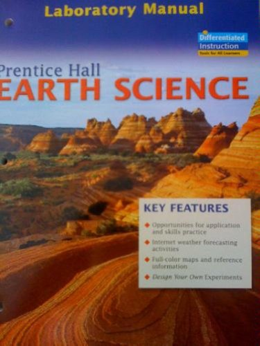 9780131258983: Prentice Hall Earth Science Lab Manual Student Edition 2006c