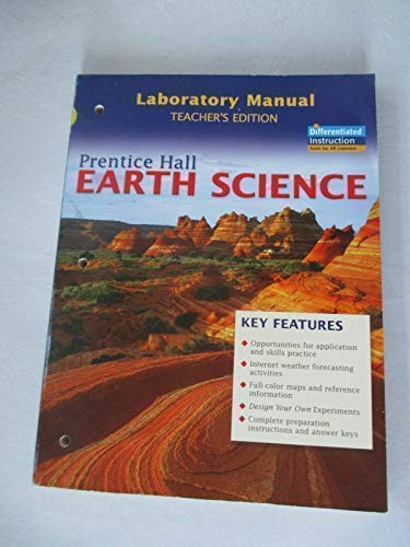 9780131259003: Earth Science Laboratory Manual, Teacher Edition