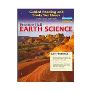 9780131259027: Prentice Hall Earth Science: Guided Reading and Study Workbook Teacher's Edition