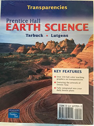9780131259041: Earth Science Transparencies