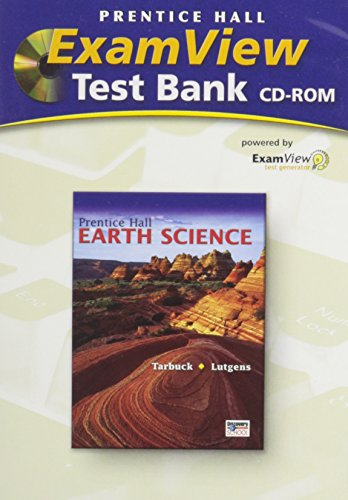 9780131259058: Prentice Hall Earth Science ExamView Test Bank on CD-ROM