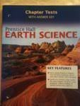 9780131259102: Prentice Hall Earth Science: Chapter Tests with Answer Key