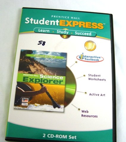 9780131259584: Prentice Hall Student Express Indiana Grade 7 Science Explorer