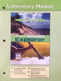9780131260399: Prentice Hall Science Explorer Indiana Grade 7 Laboratory Manual