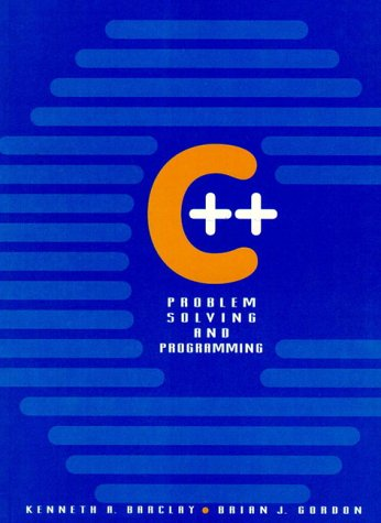 9780131266735: C++ Problem Solving and Programming