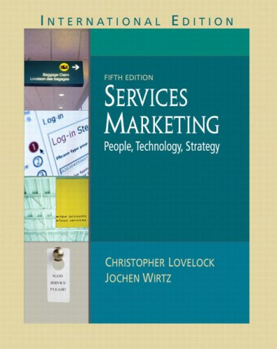 9780131268463: Services Marketing