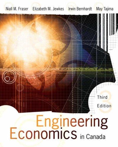 9780131269576: Engineering Economics in Canada