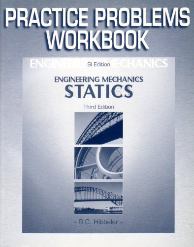 9780131271456: Engineering Mechanics Statics SI Edition Study Guide and Prob Supp