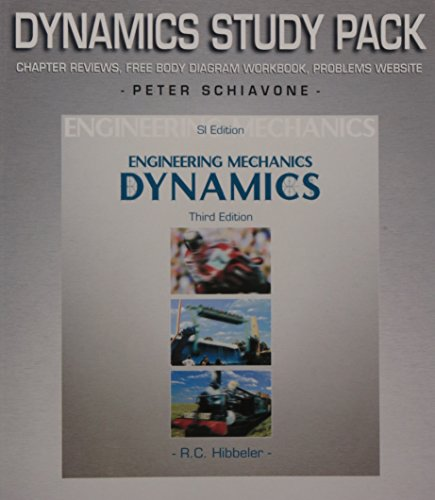 9780131271463: Engineering Mechanics: SI Edition Study Pack: Dynamics
