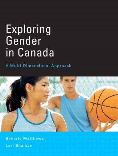 9780131272217: Exploring Gender in Canada: A Multi-Dimensional Approach