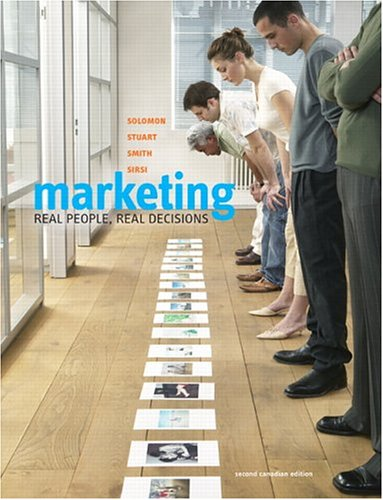 9780131272736: Marketing -- Real People, Real Decisions