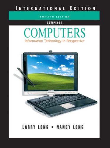 9780131273146: Computers: Information Technology in Perspective