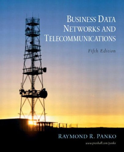 9780131273153: Business Data Networks and Telecommunications