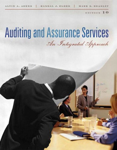 9780131273221: Auditing and Assurance Services: International Edition