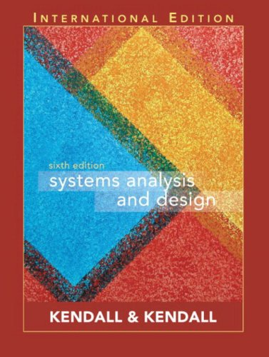 9780131273238: Systems Analysis and Design