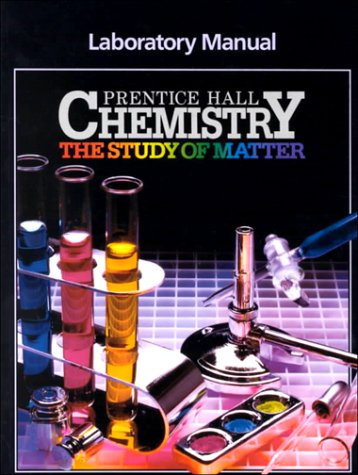 9780131273580: Chemistry: Study of Matter, Laboratory Manual