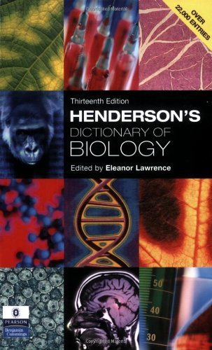 9780131273849: Henderson's Dictionary Of Biology